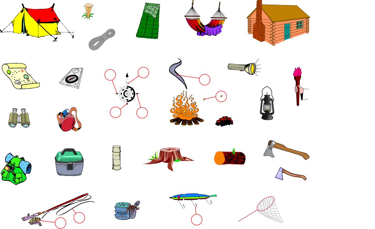 Camping (Vocabulary)
