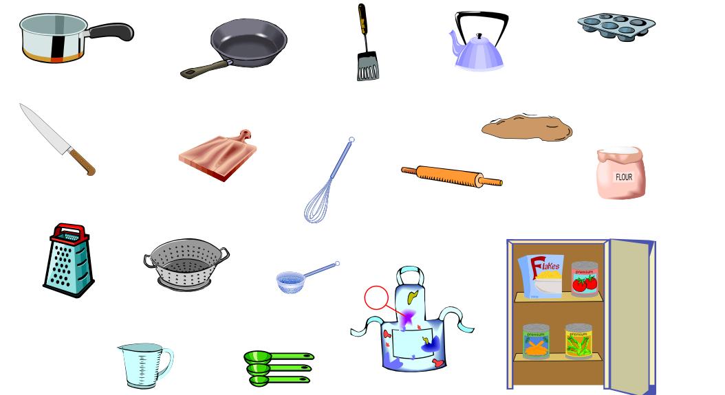 The Kitchen II (Vocabulary)