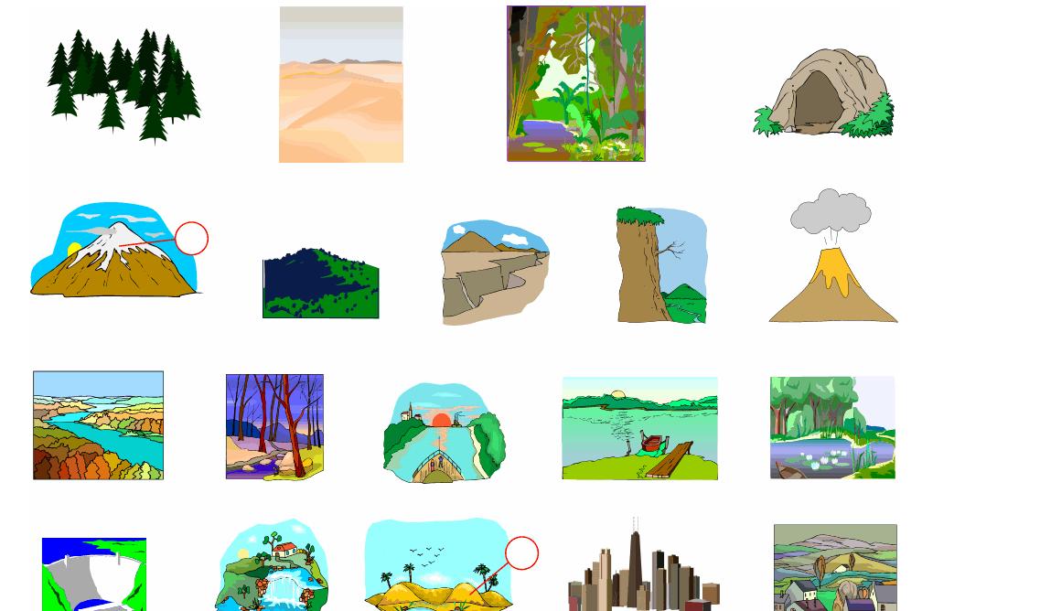 Landscapes (Vocabulary)