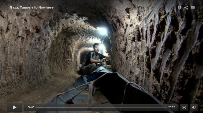 Gaza: Tunnels to Nowhere