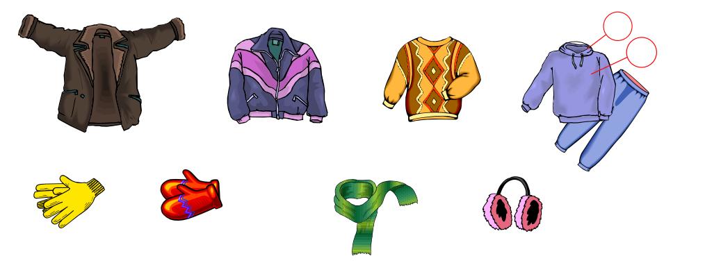 Winter Clothing (Vocabulary)