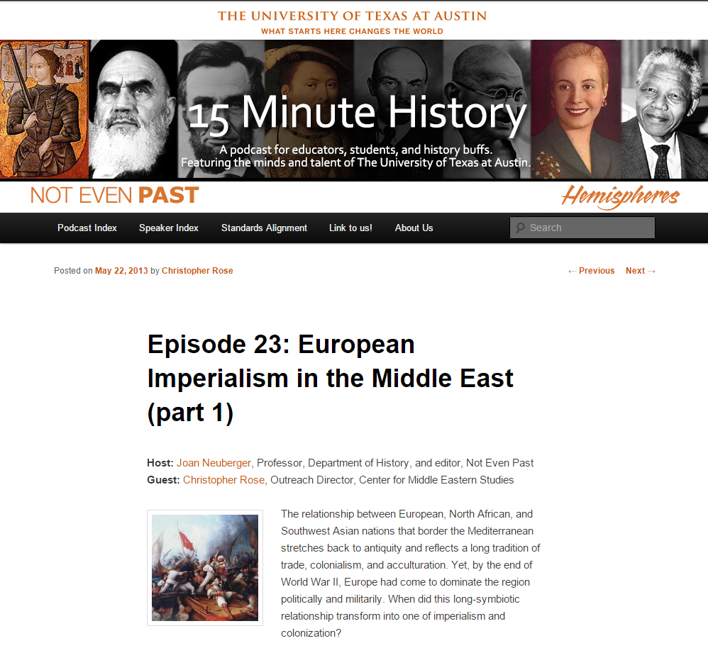15 Minute History: European Imperialism in the Middle East, Part I