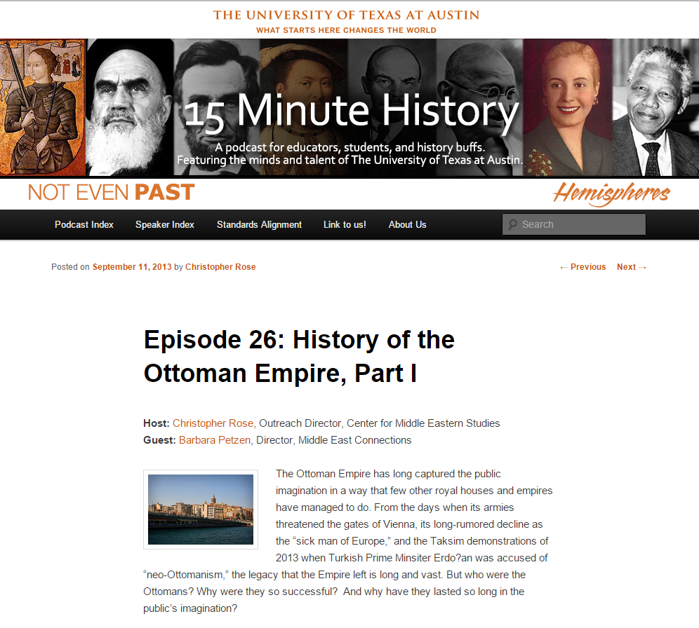 15 Minute History: History of the Ottoman Empire, Part I