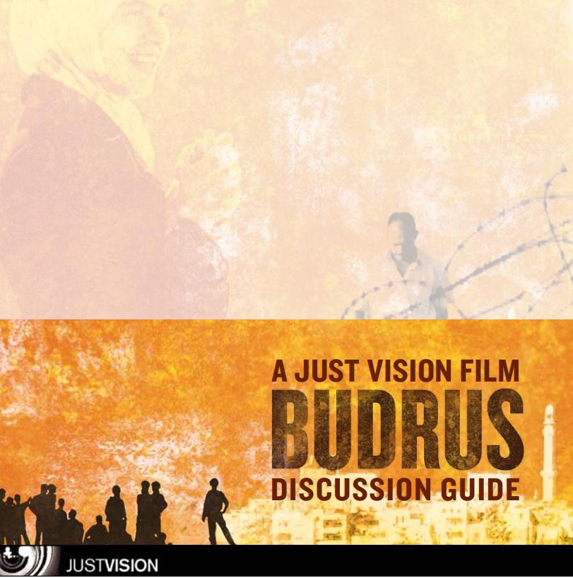 Budrus- Discussion Guide