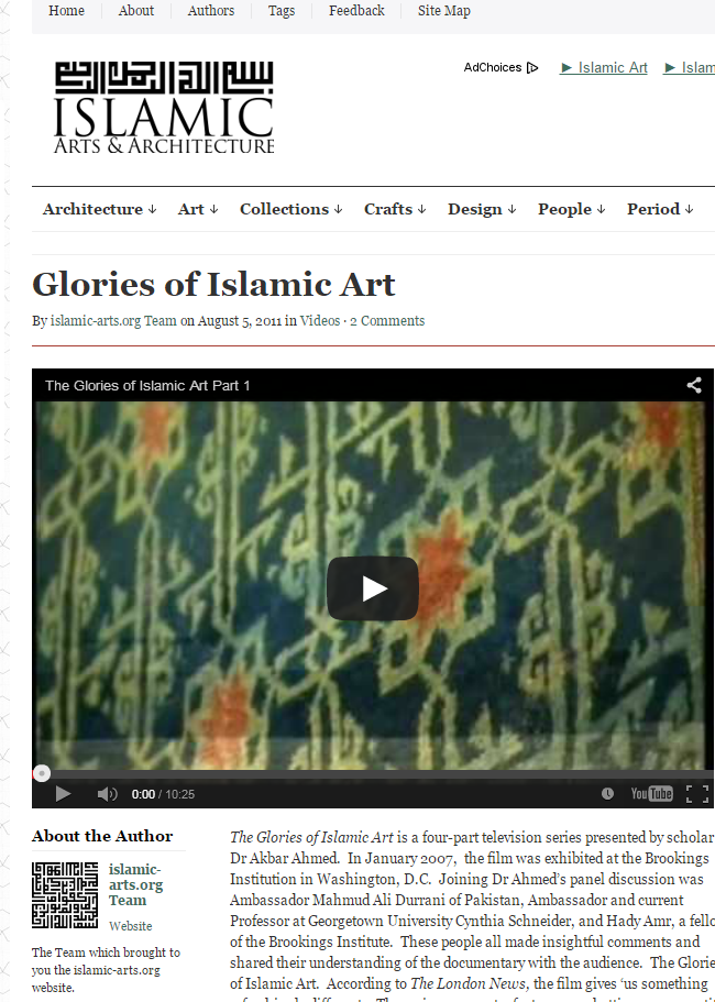 Glories of Islamic Art