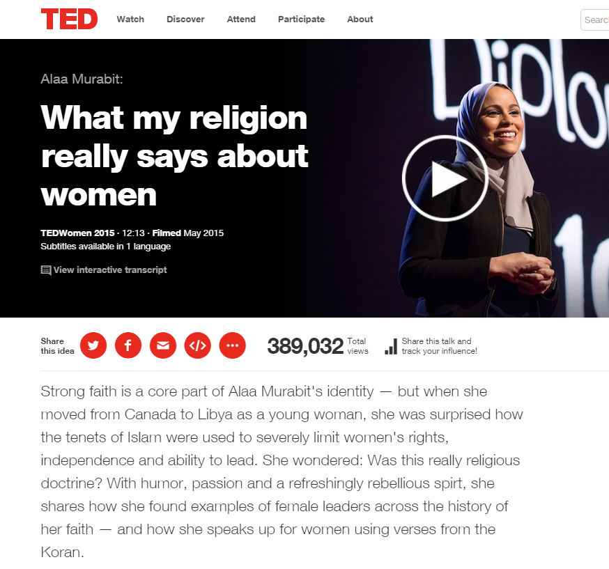 Alaa Murabit: What My Religion Really Says About Women