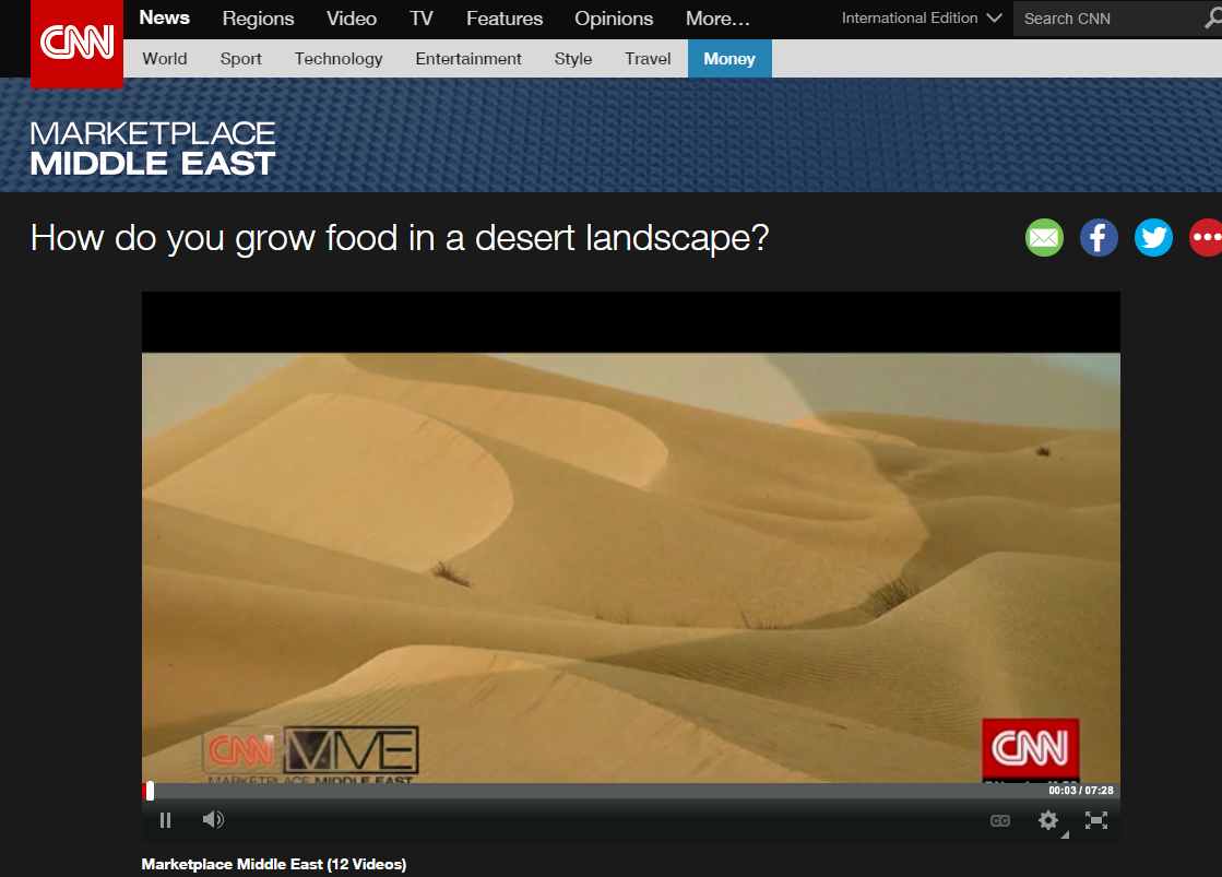 How do You Grow Food in a Desert Landscape?