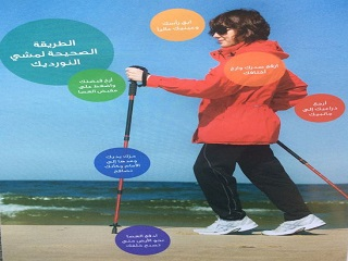 """The Correct Method for Nordic Walking"""