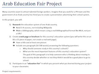Arab Education Fair