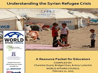 Understanding the Syrian Refugee Crisis: A Resource Packet for Educators