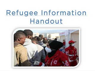 Refugee Information Handout