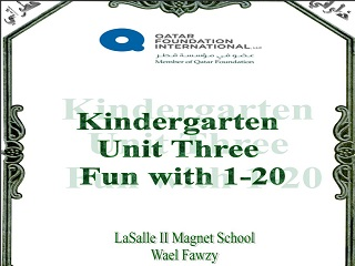 """Fun with 1-20"" Full Unit, Elementary level"