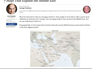 7 Maps That Explain the Middle East