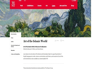 Art of the Islamic World Curriculum
