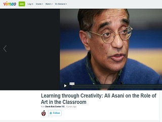 Learning Through Creativity: Ali Asani on the Role of Art in the Classroom