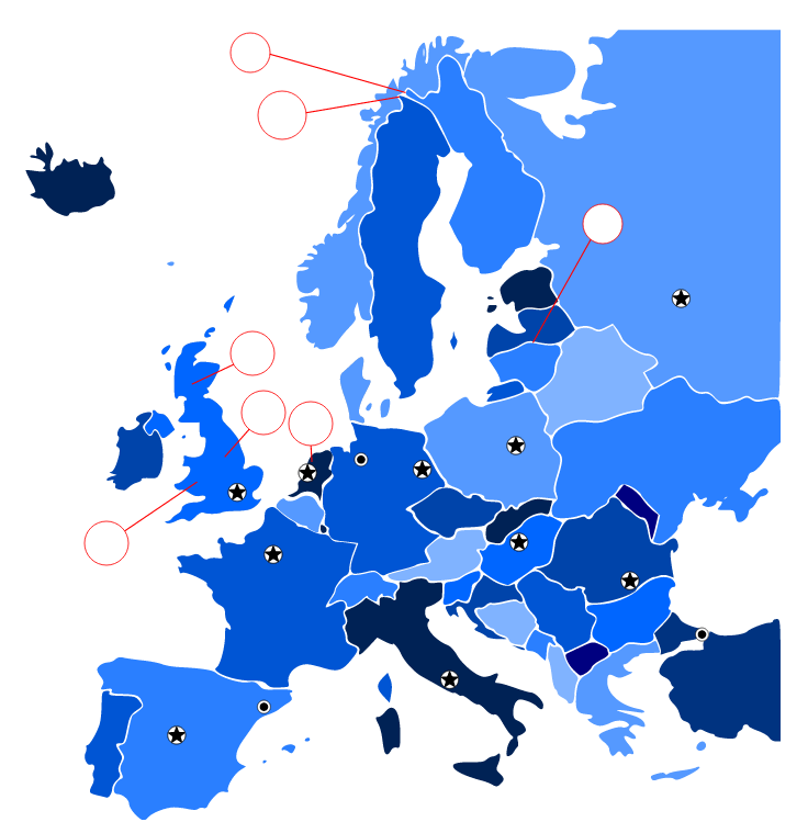 European Countries (Vocabulary)