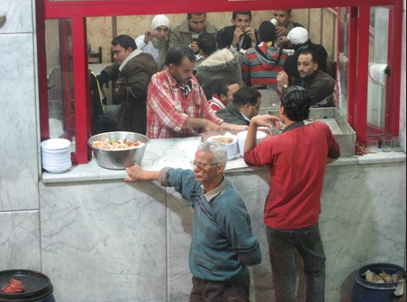A Small Restaurant in Egypt