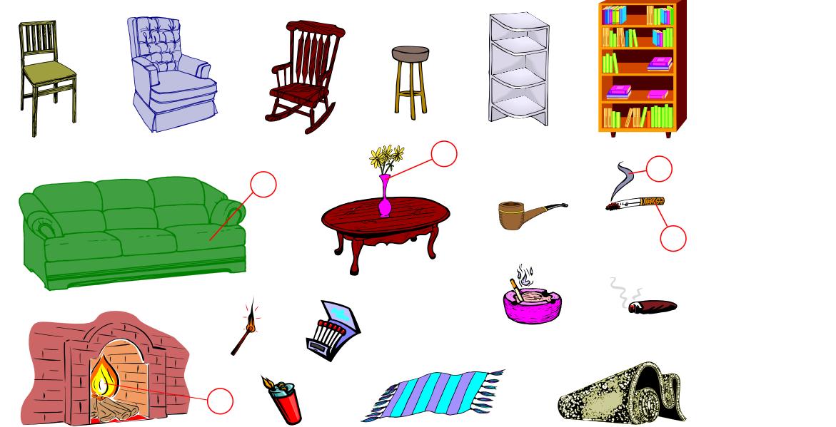 Living Room (Vocabulary)