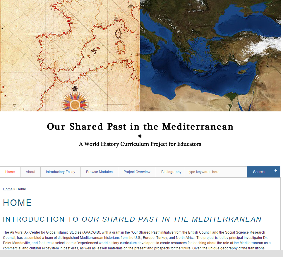 Our Shared Past in the Mediterranean