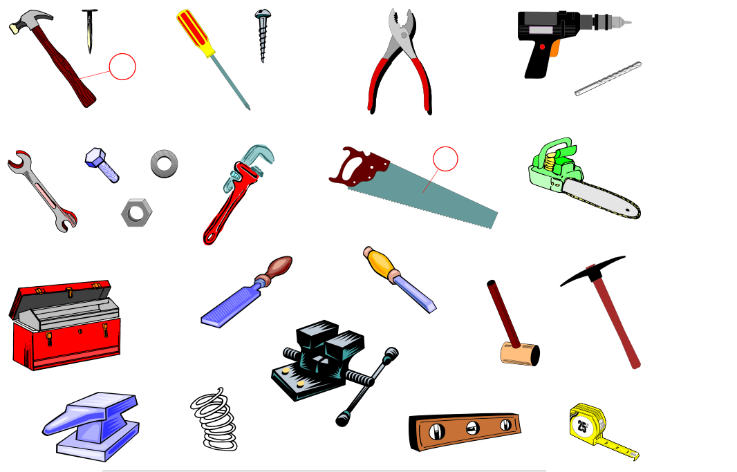 Tools (Vocabulary)