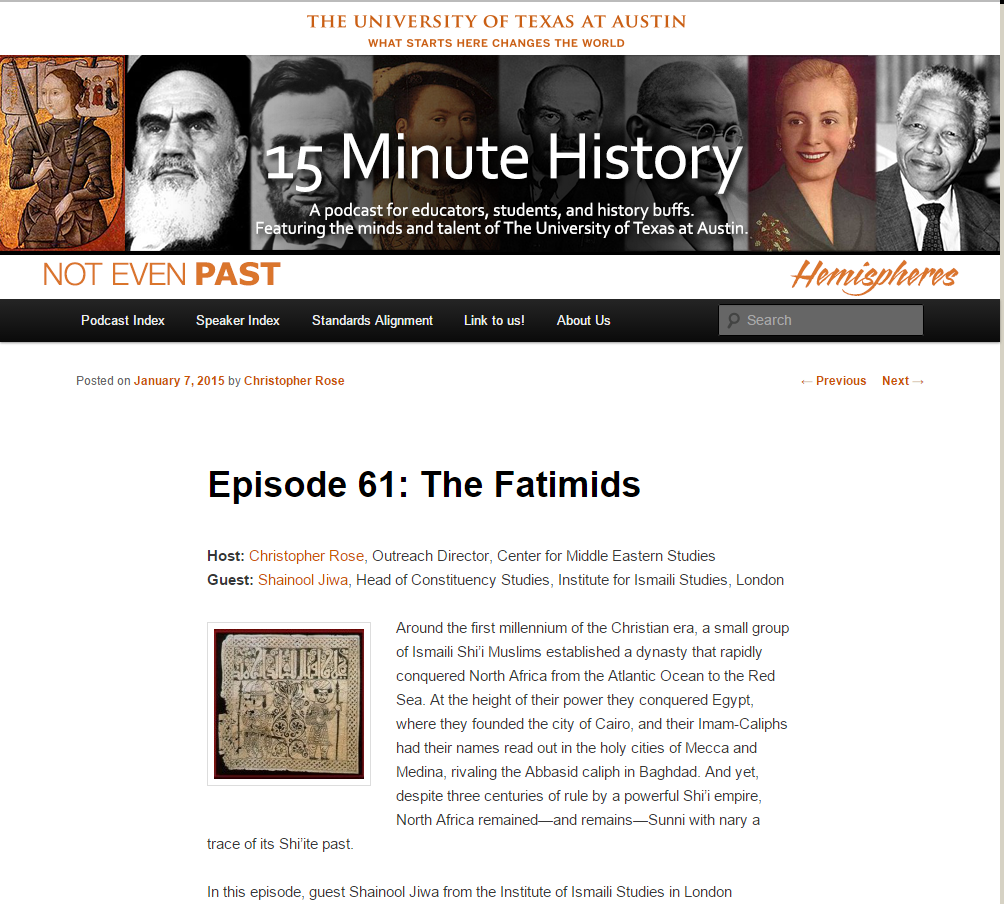 15 Minute History: The Fatimids