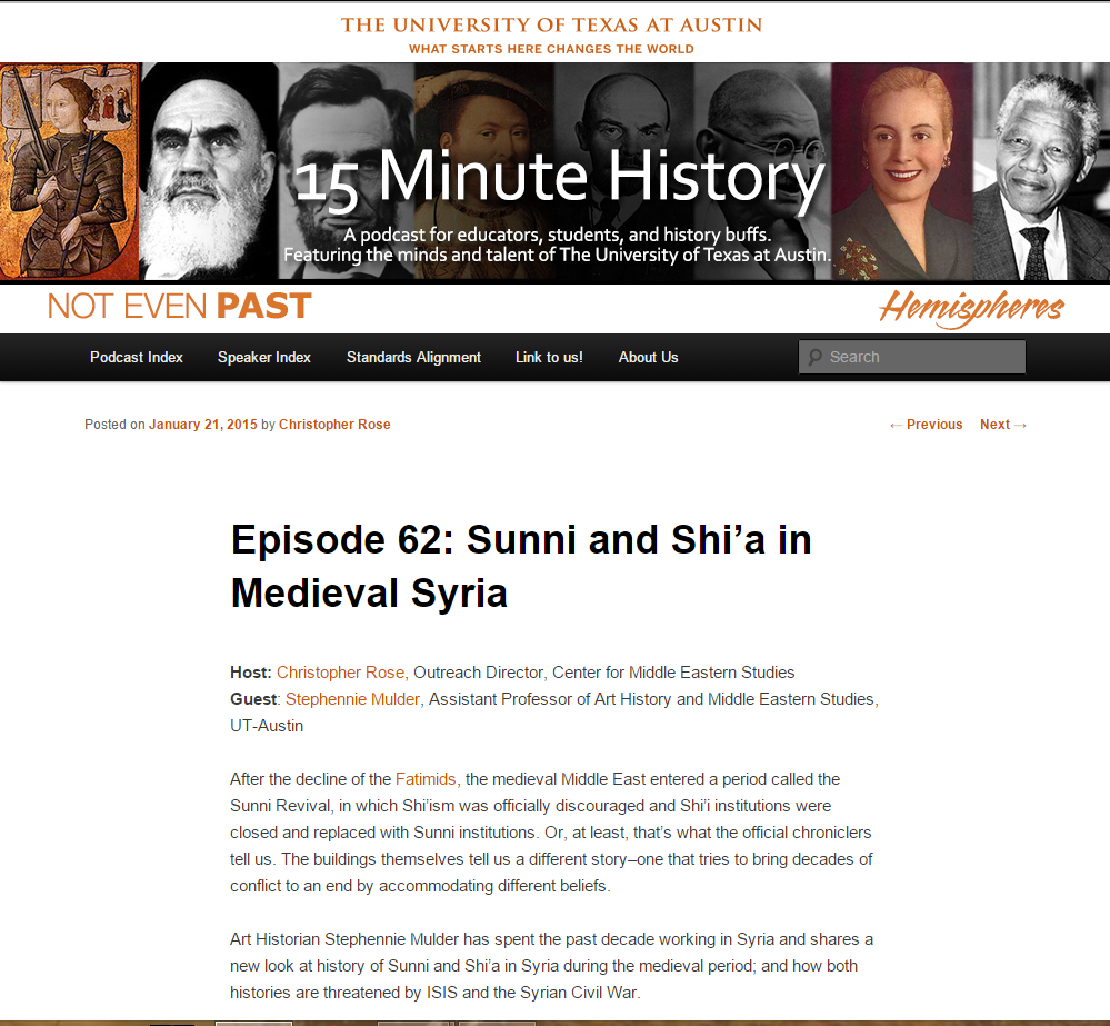 15 Minute History: Sunni and Shia in Medieval Syria