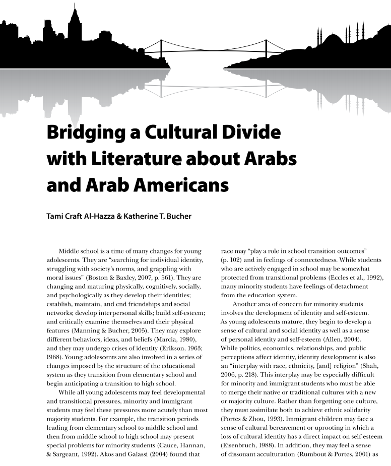 Bridging a Cultural Divide with Literature about Arabs and Arab Americans