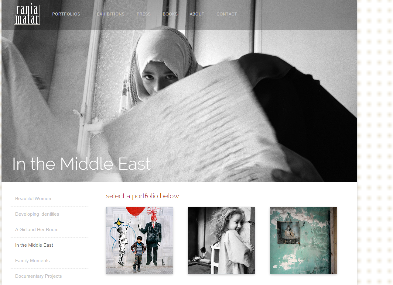Rania Matar: In the Middle East