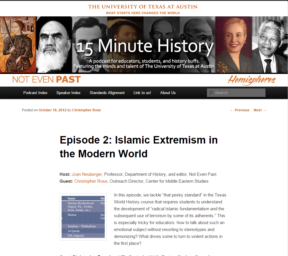 15 Minute History: Islamic Extremism in the Modern World