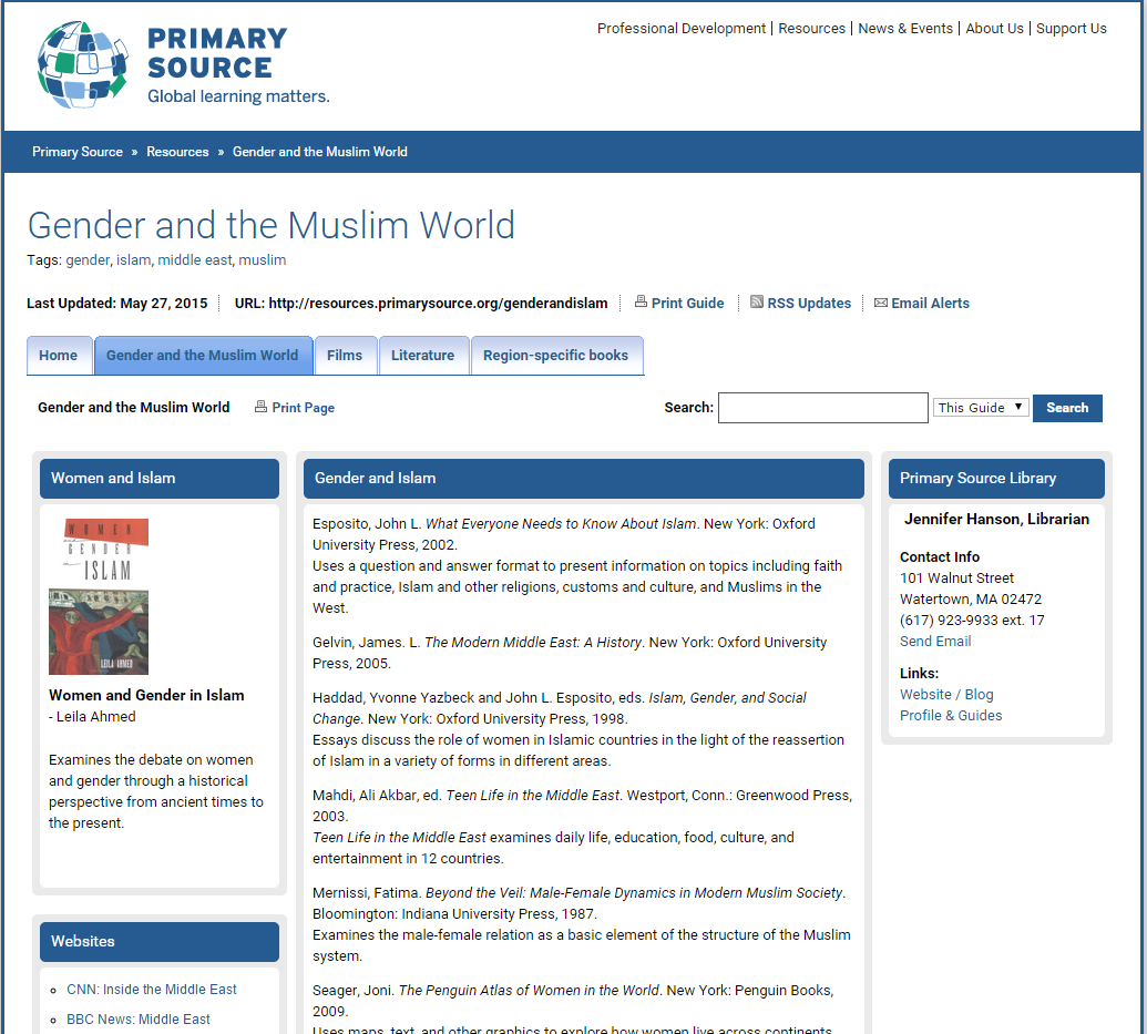 Gender and the Muslim World