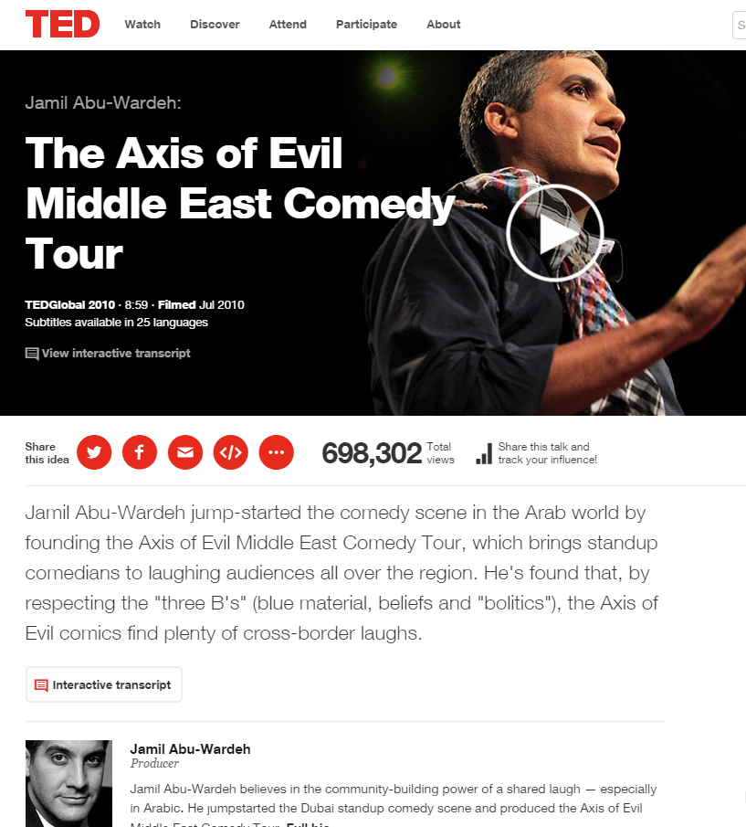 The Axis of Evil Middle East Comedy Tour