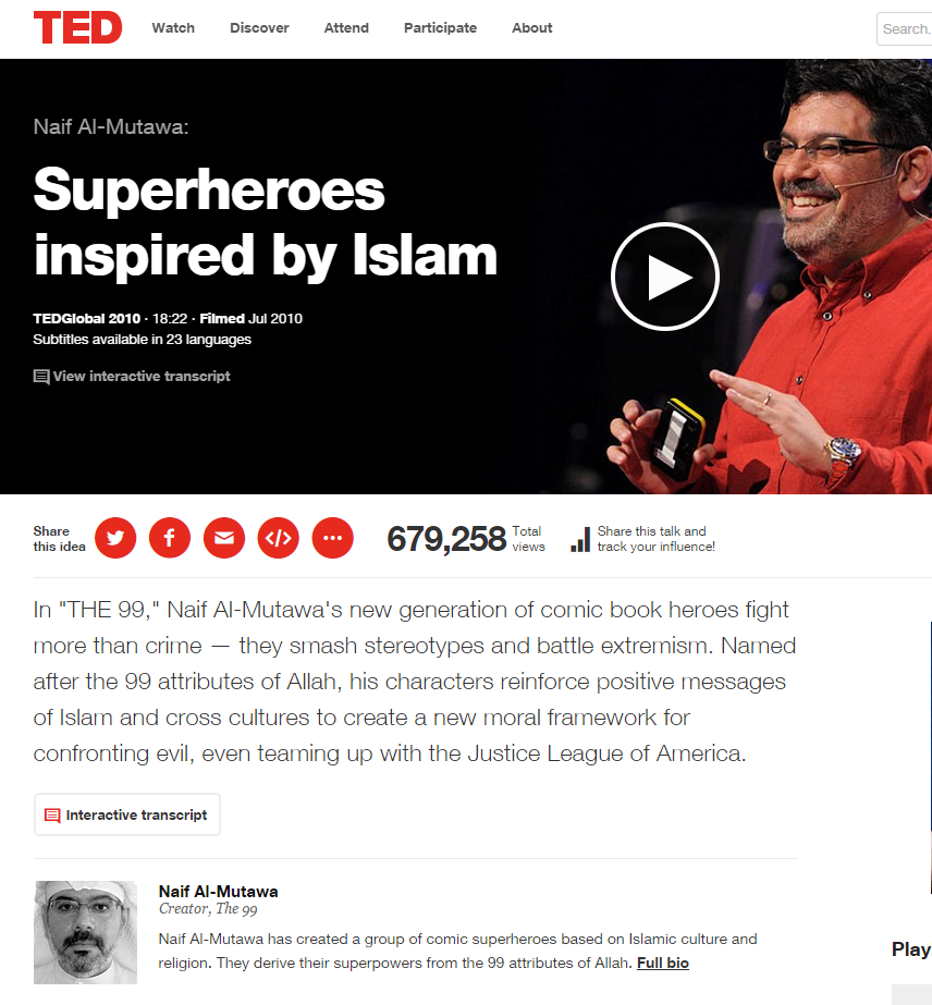 Superheroes Inspired by Islam