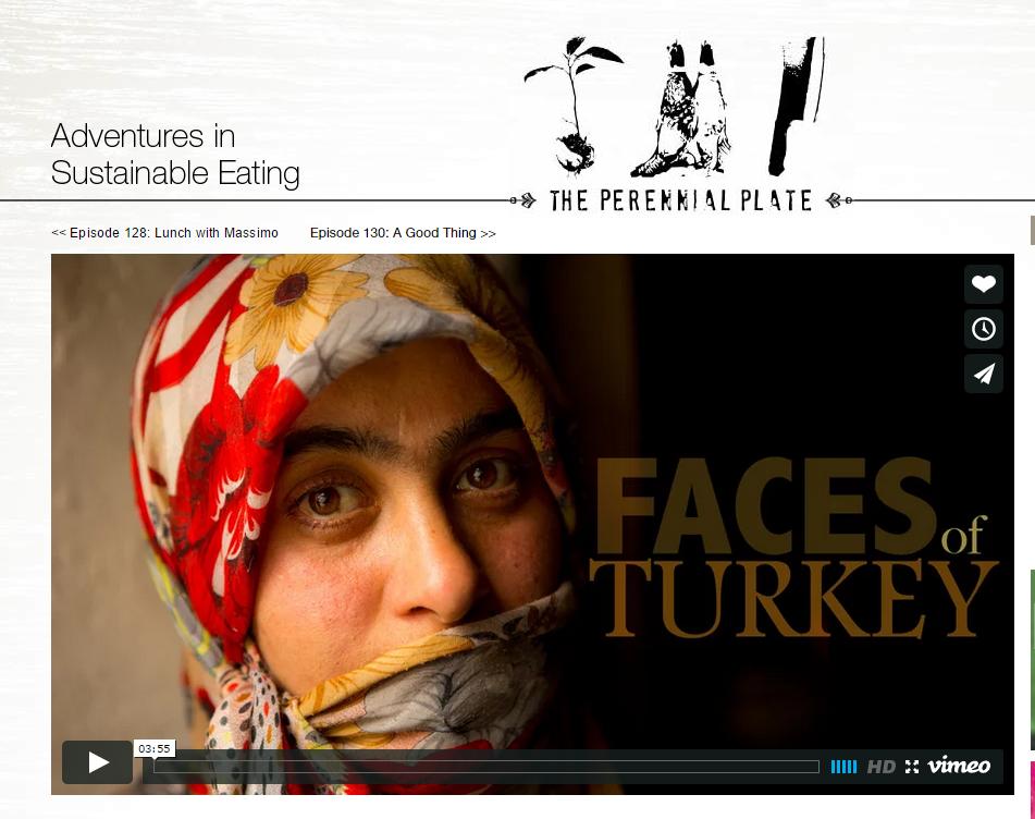 Adventures in Sustainable Eating: Turkey