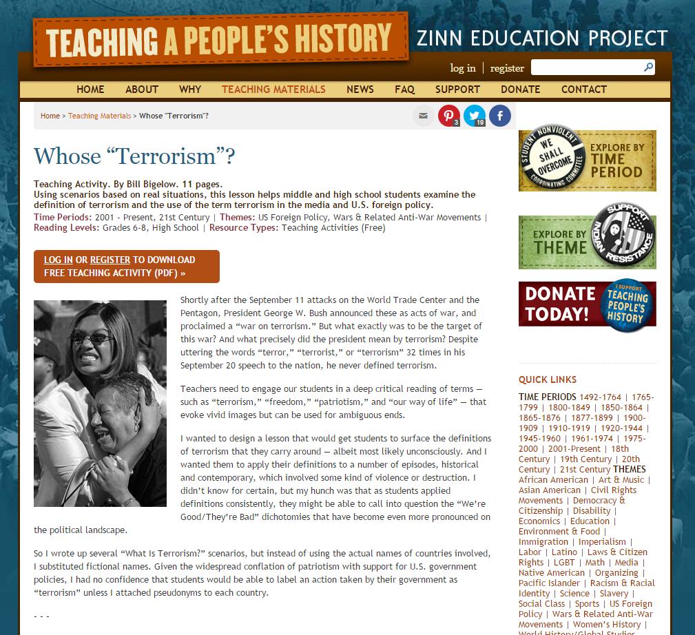 "Whose ""Terrorism""?"