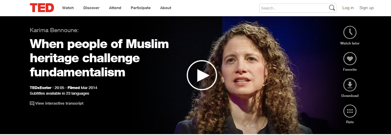 Karima Bennoune: When People of Muslim Heritage Challenge Fundamentalism