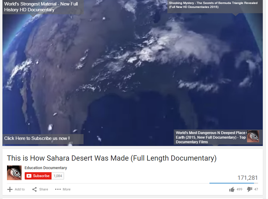 How the Earth Was Made: Sahara