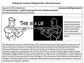 Cartooning and Free Speech – Structured Academic Controversy