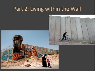 Living in the Wall; The Art of Protest, Palestinian Israeli Relations