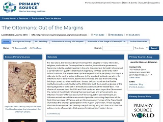 The Ottomans: Out of the Margins