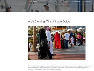 Arab Clothing: The Ultimate Guide