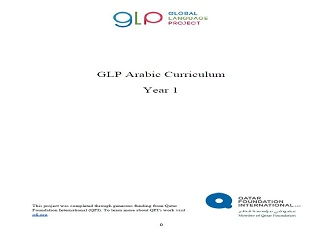 Global Language Project – Arabic Curriculum – Year 1