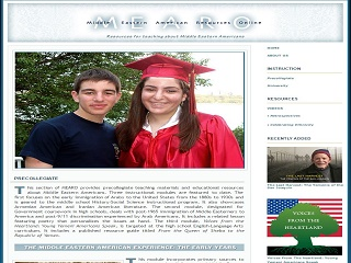 Middle Eastern American Resources Online Precollegiate Lesson Plan Collection