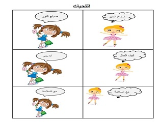 Elementary Arabic Curriculua: Unit 1 – Sharing the World