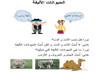Elementary Arabic Curricula: Unit 7 – Sharing the World – Animals